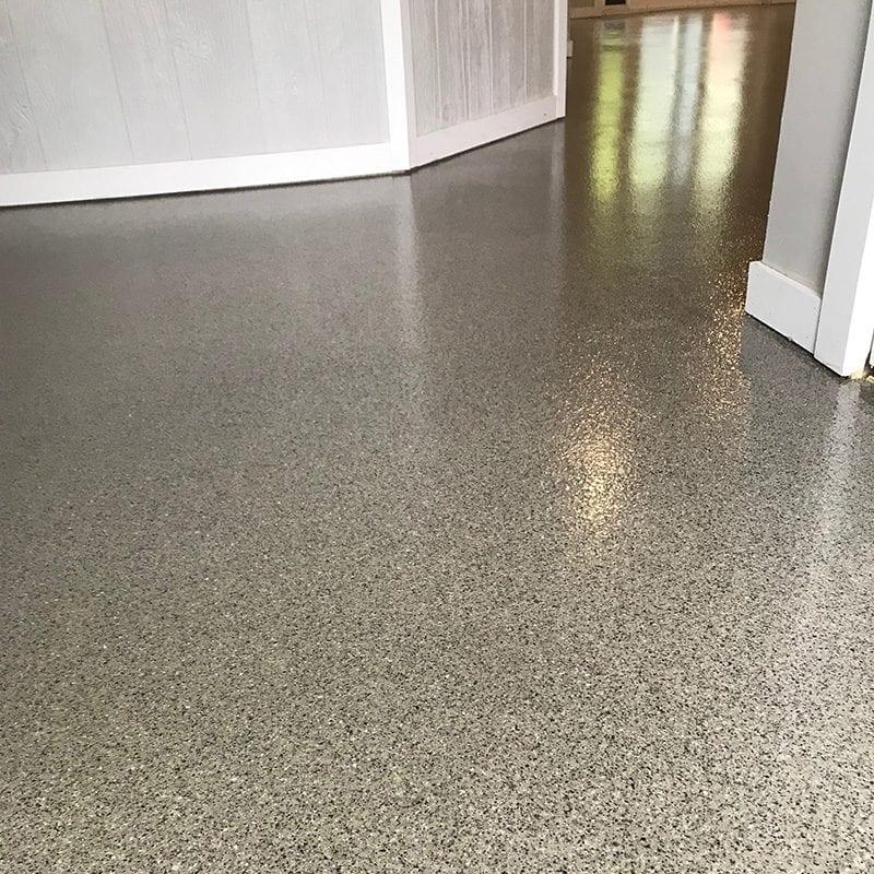 Polished Concrete floor coating