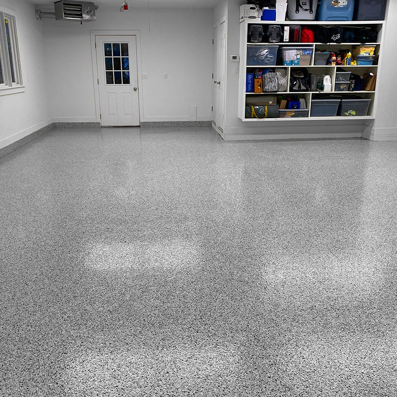 No VOC floor coating