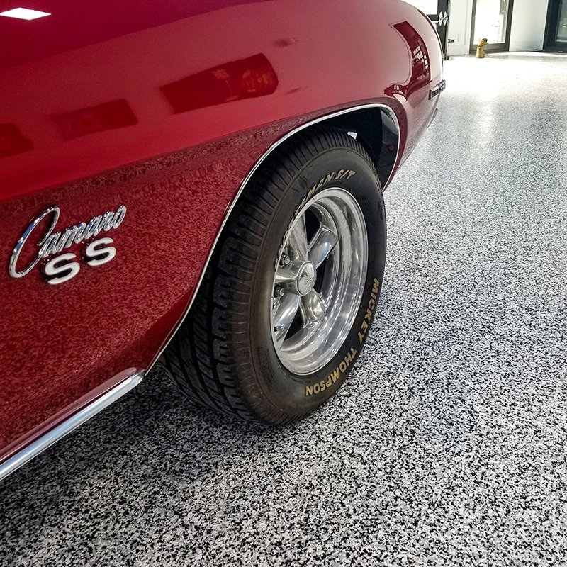car showroom flooring
