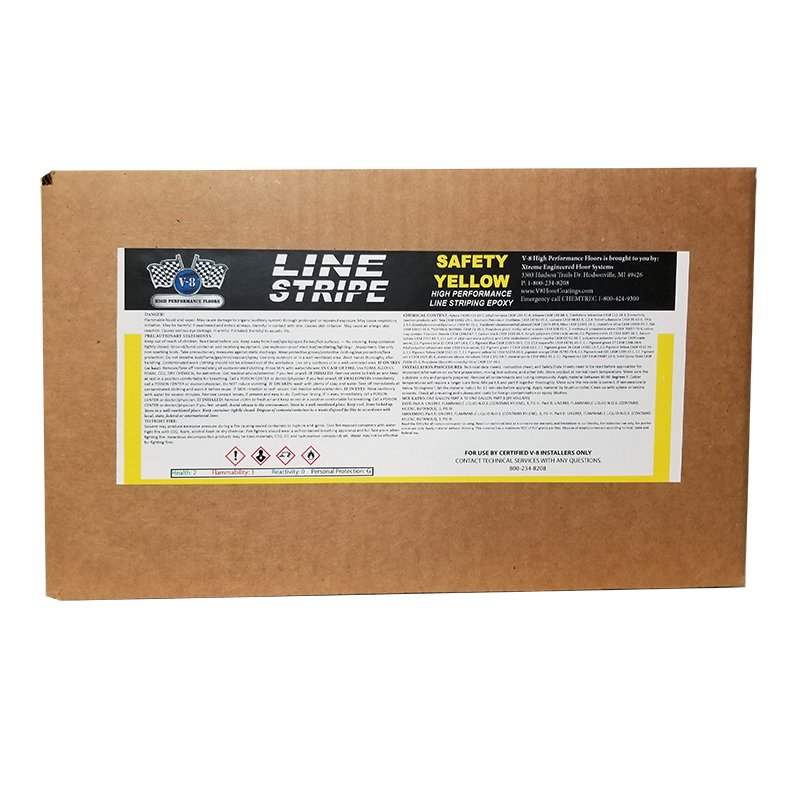 Safety Yellow Line Striping Product