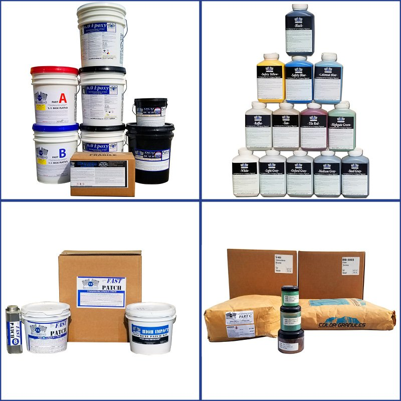 V-8 Coating Resins, Pigments, Accessories