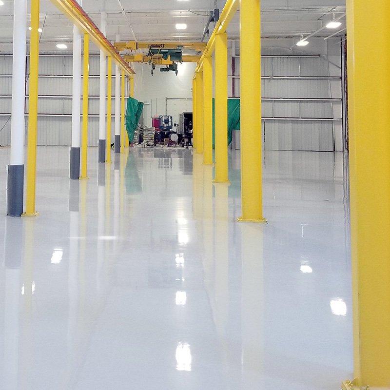 Manufacturing Facility Epoxy Flooring