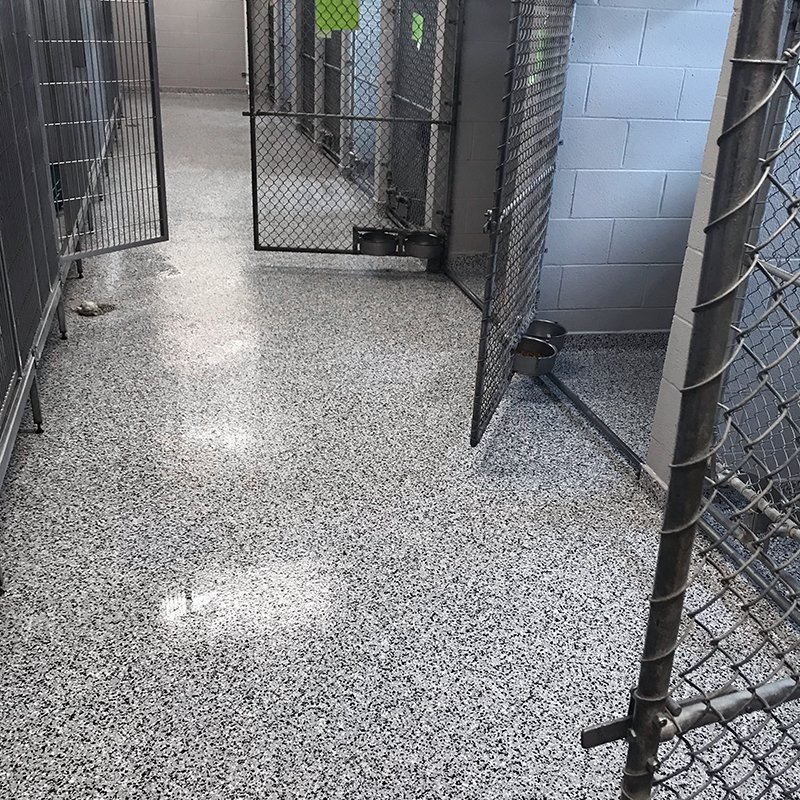 Easy to Clean Kennel Flooring