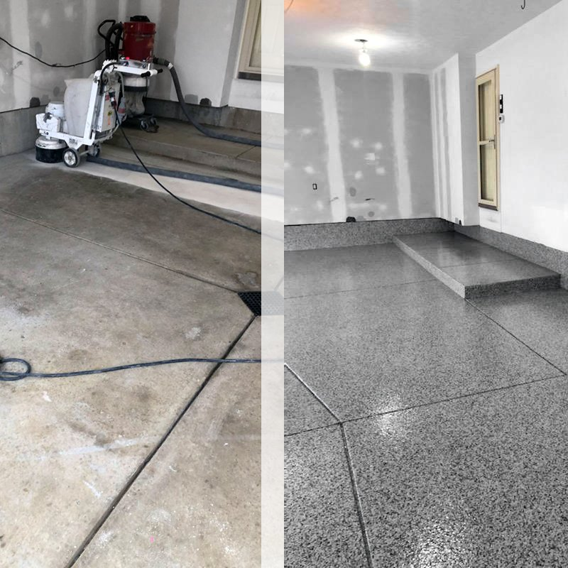 Holland Diamond Grinding for Garage Floor