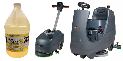 Floor Coating Cleaner and Floor Scrubber Sales