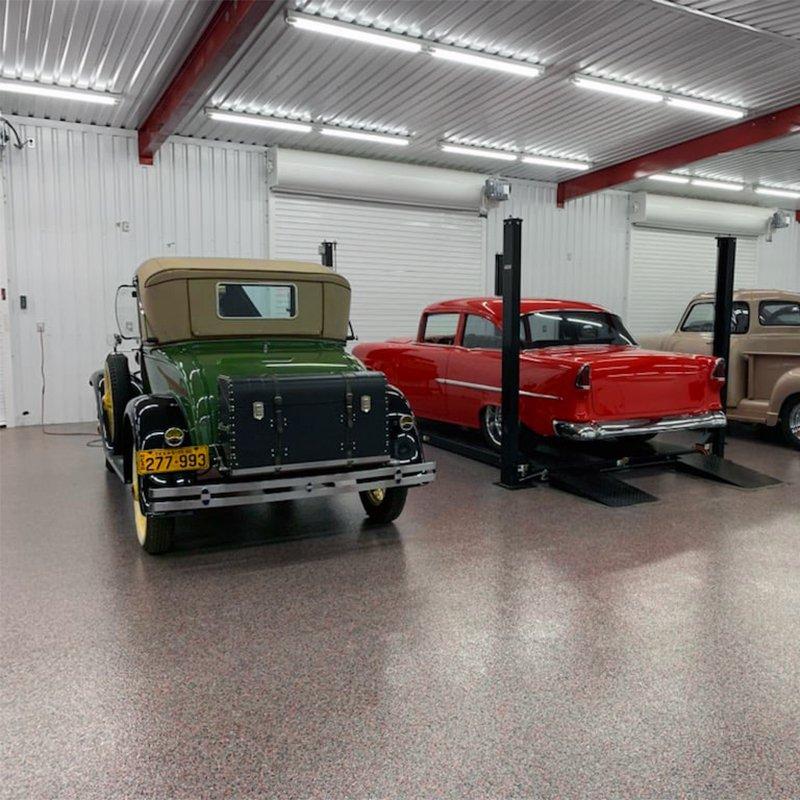 V-8 Tyler Texas Garage Floor
