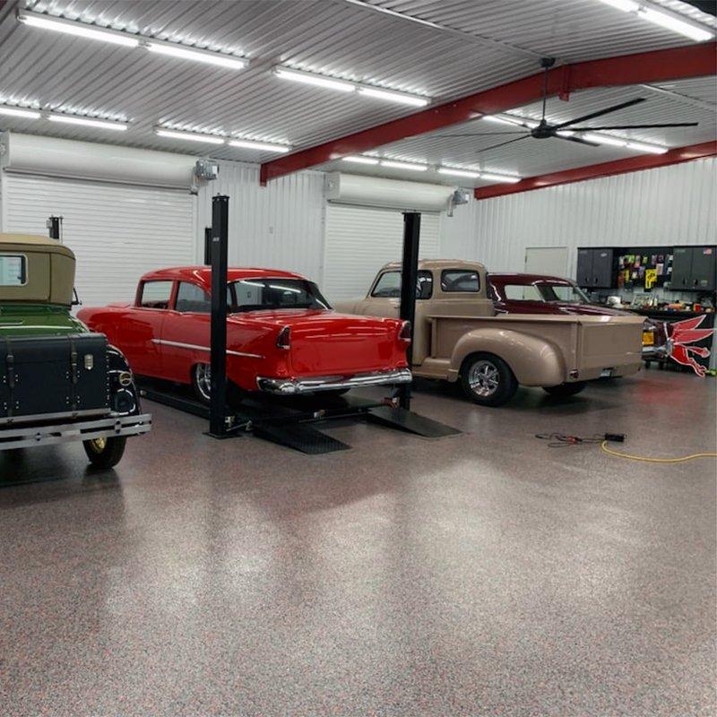 Tyler Texas Garage Floor